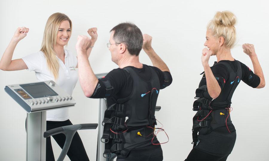 Ein starker Rücken dank EMS Training